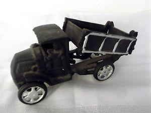 Vintage Cast Iron Toy Dump Truck
