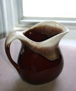 No 365 McCoy USA Brown Drip Pitcher Pottery
