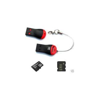 Micro SD SDHC M2 HC Card Reader Lettore Mini Adattatore USB 2 0 per MicroSD TF