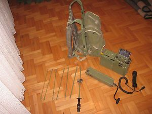 Rockwell Collins PRC 515 RU 20 MP 20 Military Radio with Accessories