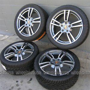 """20"""" Porsche Cayenne Turbo VW Touareg Wheels and Yokohama Tires Package 4 New"""