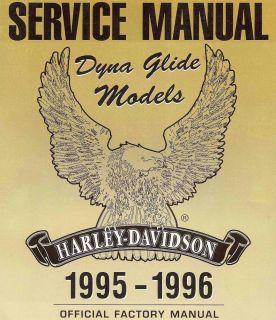 1995 1996 Harley Davidson Dyna Glide Models Service Manual FXDWG FXD FXDL FXDS