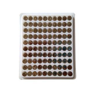 New 100 x AG3 LR41 SR41 392 196 Alkaline Watch Clock Button Coin Cell Battery