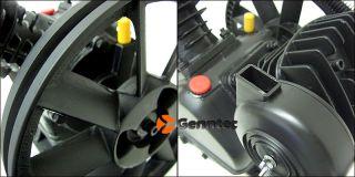 """140PSI Dual Piston 2HP Motor Air Compressor Pump 11"""" Pulley Aluminum 1200rpm New"""