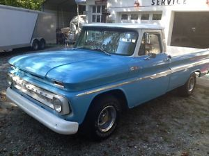 1965 Chevy Chevrolet Pickup Truck Longbed Fleetside Antique Pick Up