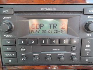 Radio 6 CD Changer Radio VW Passat Golf Jetta 98 99 00 01 02 03 04 05 350858