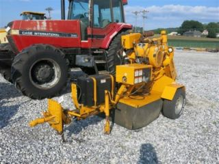 "Carlton 3500 Stump Grinder 2000 Hours 26"" Grinder Ball Hitch"