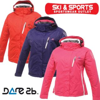 DARE2B Predicted Ski Jacket Waterproof Hooded Coat Ladies Winter New Sizes 8 14