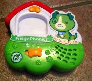 Leap Frog Fridge Phonics Magnetic Letter Alphabet System Toy Dog Scout