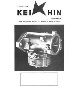 Keihin Carburetor Parts Service Manual