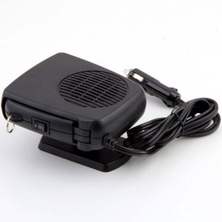 12V Vehicle Car Portable Ceramic Heating Heater Fan Defroster Demister He