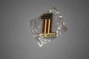 1 One Emblem Vintage Harley Davidson Emblem Resin Metal USA Parts Decals