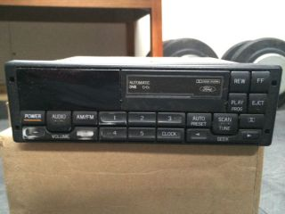 1998 Ford Mustang Cobra Am FM Radio Cassette Player Stereo Factory Head Unit