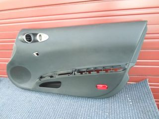 03 04 05 Nissan 350Z Base Coupe Front Passenger Door Panel Black