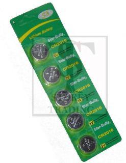 2X CR2016 CR 2016 3V Lithium Button Coin Cell Battery