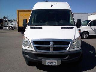 08 Dodge Sprinter Hi Roof Extra Long 1 Ton Cargo Van Diesel Truck 2500 3500