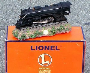Lionel Trains 726 Berkshire Steam Locomotive Engine Music Box 2277 RARE 'D Ed