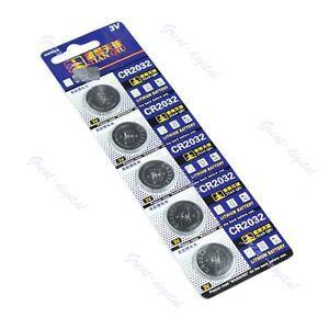 10x 3V CR2032 Lithium Button Coin Cell Battery CR 2032