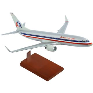 American Airlines 1 100 Boeing 737 800 Desk Display Top Model Aircraft Airplane
