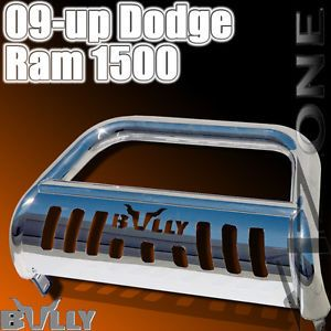 2009 2010 Dodge RAM 1500 Bully Grille Guard Front Bumper Bull Bar w Skid Plate