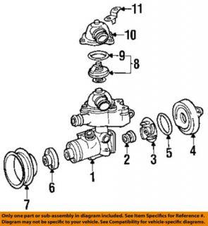 Mercedes Benz MB 0159972348 Engine Coolant Thermostat Gasket