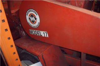 "Morbark Model 17 Wood Chipper 17"" New Engine Will SHIP Heavy Duty Turbo Diesel"