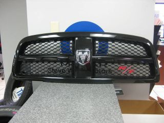 2009 2010 Dodge RAM 1500 Black RT Grille Assembly Mopar