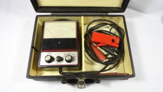 Stevens Tach Dwell Meter Model TD 45 with Carry Case
