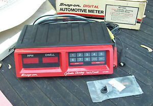 Snap on MT 1460 Digital Cylinder Shorting Tach Dwell Meter MT1460