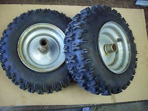 Craftsman Murray Two Stage Snow Blower Tire Wheel Set 4 10 6NHS 318504