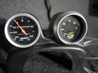 VW aem Boost Air Fuel Dual Gauge Pod Jetta Golf GTI MK4