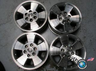 "Four 05 09 Toyota Tacoma Factory 17"" Wheels Rims 4Runner Tundra Sequoia T100"