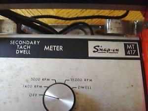 Snap on Dwell Meter