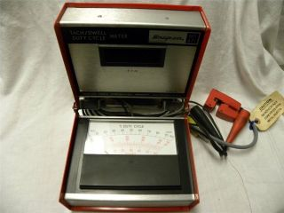Used Snap on MT 471 Tach Dwell Duty Cycle Meter Automotive Repair Tool