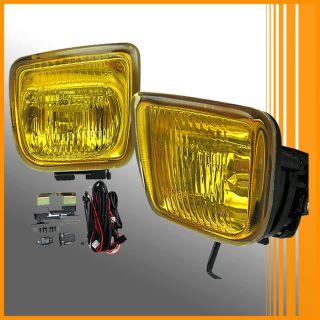 96 97 98 Honda Civic EK JDM Yellow Fog Lights Lamps Kit