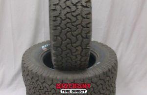 4 Used 285 65 18 BFG All Terrain T A KO Tires 65R R18