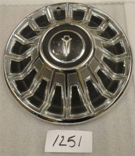 "1967 67 Plymouth Fury VIP 14"" Hubcap Hub Cap Good Used 2823029 x 24 316"