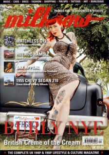 Milkcow Magazine 20 Pin Up Hot Rod Pinup Rockabilly Custom Car Culture Retro
