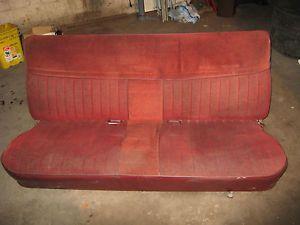 1973 87 Chevy GMC Truck Factory Chevrolet V10 R10 Suburban Bench Seat