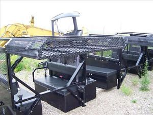 Terex ASV Scout Sc50 ST50 Personnel Carrier Truck Bed Takeoff with Seats