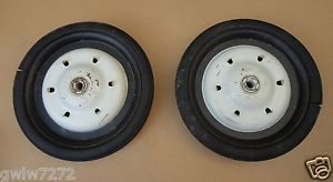 Murray 2 Vintage Pedal Car Tires Wheels 1960's Original New Old Stock