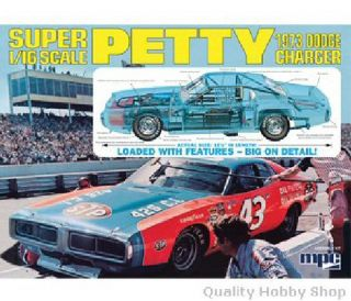 Richard Petty Model Car
