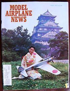 Aug 1973 Model Airplane News RC Magazine St Super Tigre G21 46 R C Engine Review