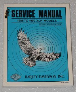 1986 1990 Harley Davidson XLH Sportster Service Manual