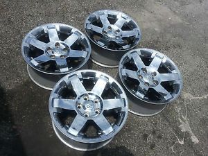 "20"" Dodge 1500 RAM Laramie Big Horn Factory Chrome Wheels Rims 2013"
