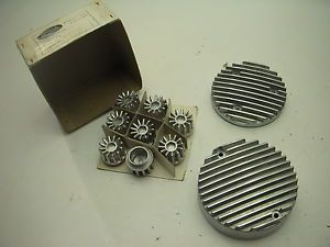 1969 76 Honda 750 CB750 Custom Motor Engine Finned Cover 10 Piece Set Tappets