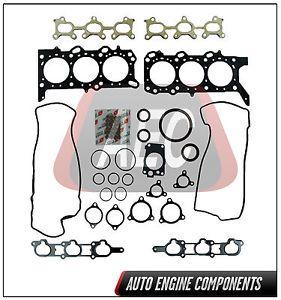 02 06 Suzuki Grand Vitara XL 7 2 7L V6 H27A Full Gasket Set DFS1817