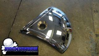 """28"""" Dub Shokka S601 Chrome Wheel Rim Spinner Floater Floating Face RARE"""