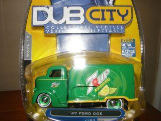 Jada Dub City '47 Ford COE w RR VHTF
