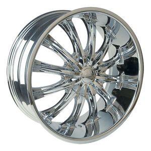 26 inch Borghini B15 Wheels Rims Tires Fit Chevy Cadillac GMC Old School Cars
